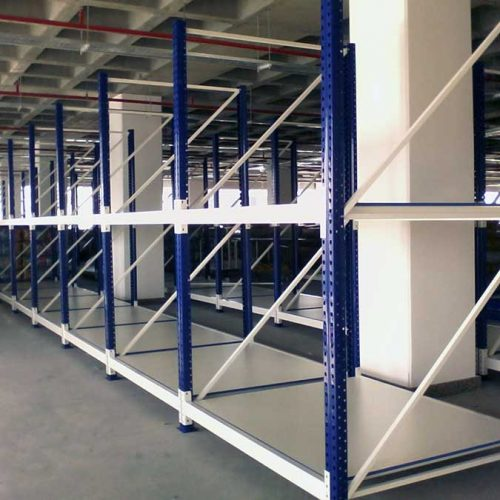 Wide Span Industrial Shelving
