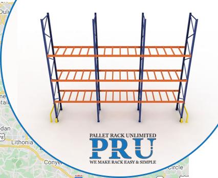 empty-metal-shelves-blue-and-orange