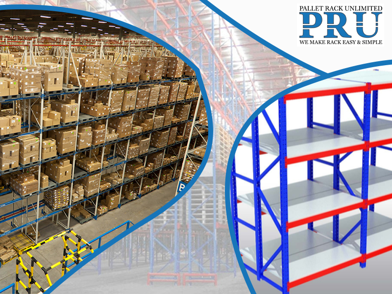 blue-rack-with-brown-boxes-and-orange-and-blue-storage-rack-with-different-layout