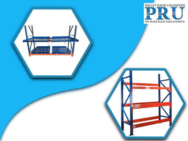blue-and-red-colored-storage-racks-with-different-layouts
