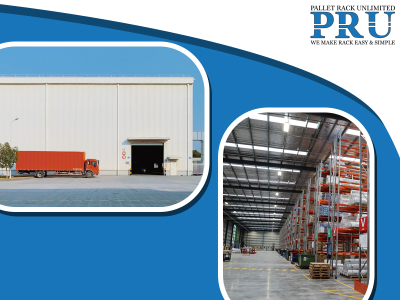shipment-moving-truck-and-a-warehouse-with-pallet-racks-with-load-in-it
